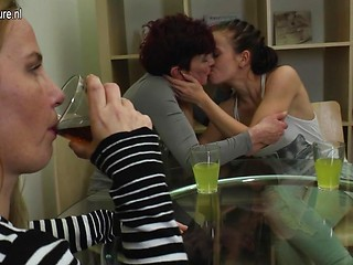Are old young lesbians threesome reply, attribute