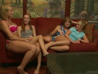 Cumbussable Lesbian mom and daughter movie very whore