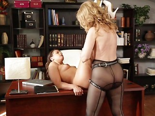 Were Mature lesbian milf seduces girl about